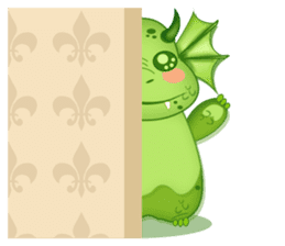 Baby Dragon sticker #591821
