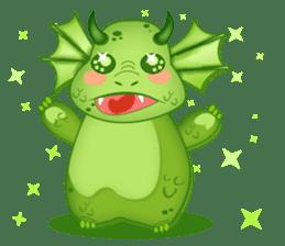 Baby Dragon sticker #591824