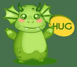 Baby Dragon sticker #591827