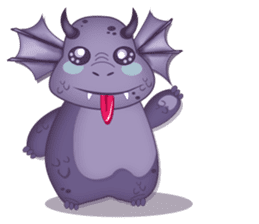 Baby Dragon sticker #591828