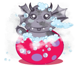 Baby Dragon sticker #591831