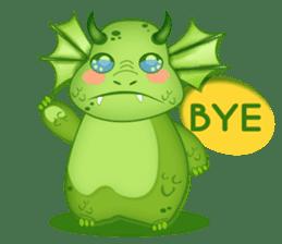 Baby Dragon sticker #591833