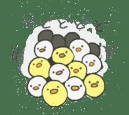 Spiritless Chick sticker #592445