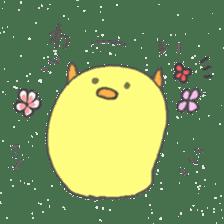 Spiritless Chick sticker #592462