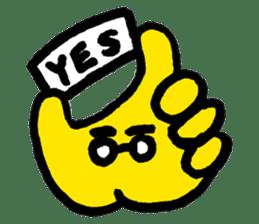 Massot Hand-kun sticker #593595