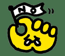Massot Hand-kun sticker #593596