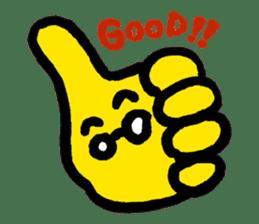 Massot Hand-kun sticker #593597