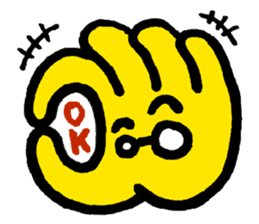 Massot Hand-kun sticker #593598