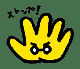 Massot Hand-kun sticker #593601