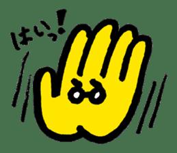 Massot Hand-kun sticker #593603