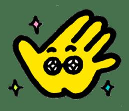 Massot Hand-kun sticker #593609