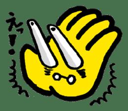 Massot Hand-kun sticker #593610