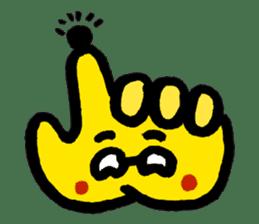 Massot Hand-kun sticker #593622