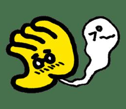 Massot Hand-kun sticker #593623