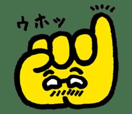 Massot Hand-kun sticker #593624