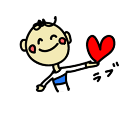 kota & Lara sticker #593711