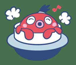 Do your best !  TAKOMARU sticker #593796