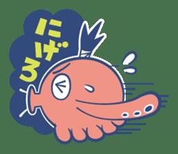 Do your best !  TAKOMARU sticker #593799