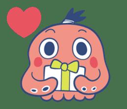 Do your best !  TAKOMARU sticker #593825
