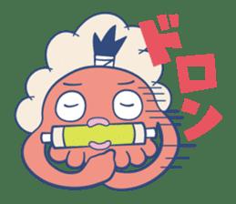 Do your best !  TAKOMARU sticker #593826