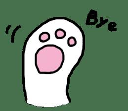 white bear sticker #594084