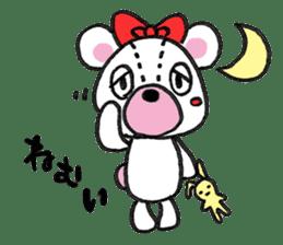 white bear sticker #594088