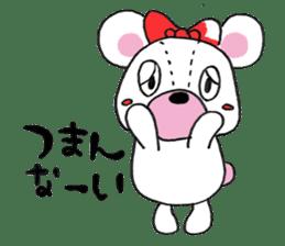 white bear sticker #594100