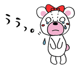 white bear sticker #594105