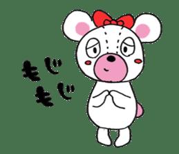 white bear sticker #594110