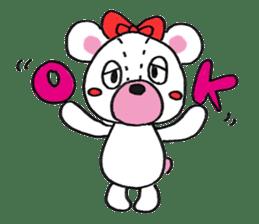 white bear sticker #594112