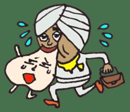Naankun To Indian sticker #594235