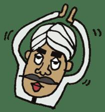 Naankun To Indian sticker #594247