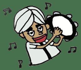 Naankun To Indian sticker #594268