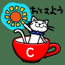 OnoNyanko speaks Hiroshima dialect sticker #594554
