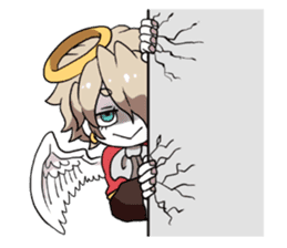 Angels and Demons of twins sticker #595683