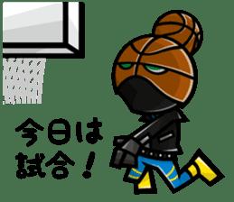 Bball Rider sticker #595827