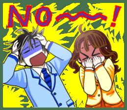 Ushi-ko chan  &  Yoshikawa kun. sticker #595884