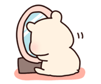 squishy hamster sticker #596779