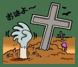 Zombie Life sticker #597525