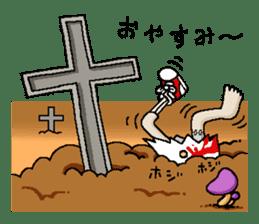 Zombie Life sticker #597526