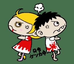 Zombie Life sticker #597541