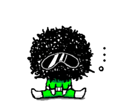 mozya-green sticker #598008
