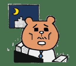Bear Ryman sticker #598362