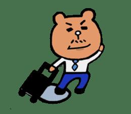 Bear Ryman sticker #598374