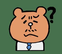 Bear Ryman sticker #598375