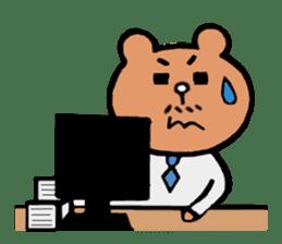 Bear Ryman sticker #598379