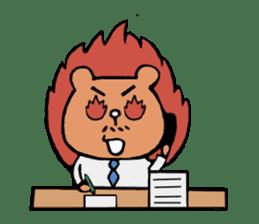Bear Ryman sticker #598380