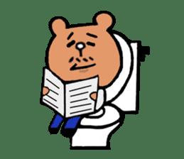 Bear Ryman sticker #598392