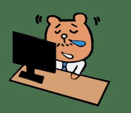 Bear Ryman sticker #598397