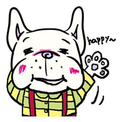 frenchbulldog's young days (English ver)